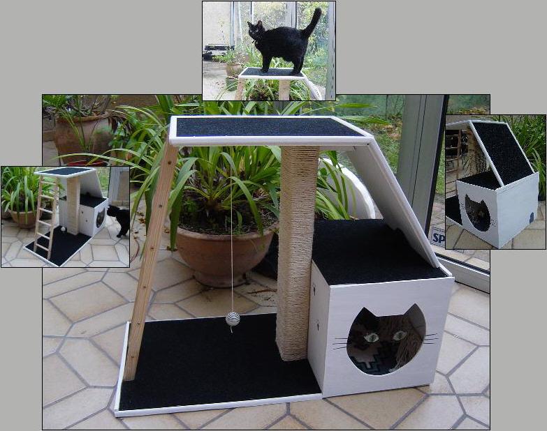 Fabriquer un arbre chats - Fabriquer son arbre a chat ...